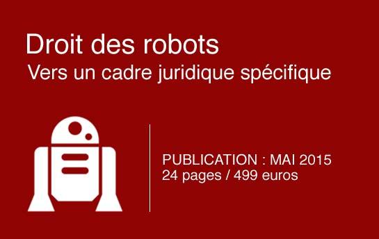 Droit des robots - Mai 2015