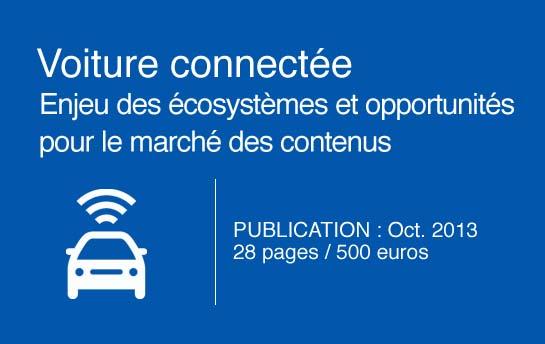 Voiture connectée - Octobre 2013