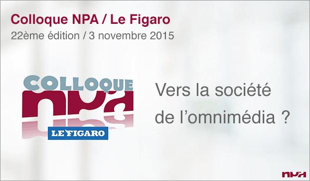 Visuel d'annonce du Colloque NPA-Me Figaro